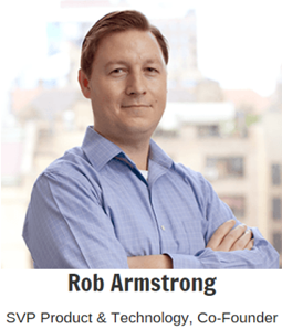 Rob Armstrong SVP Product & Technology of Bombora
